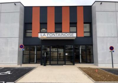 Visuel Maison de Santé La Fontainoise - facade